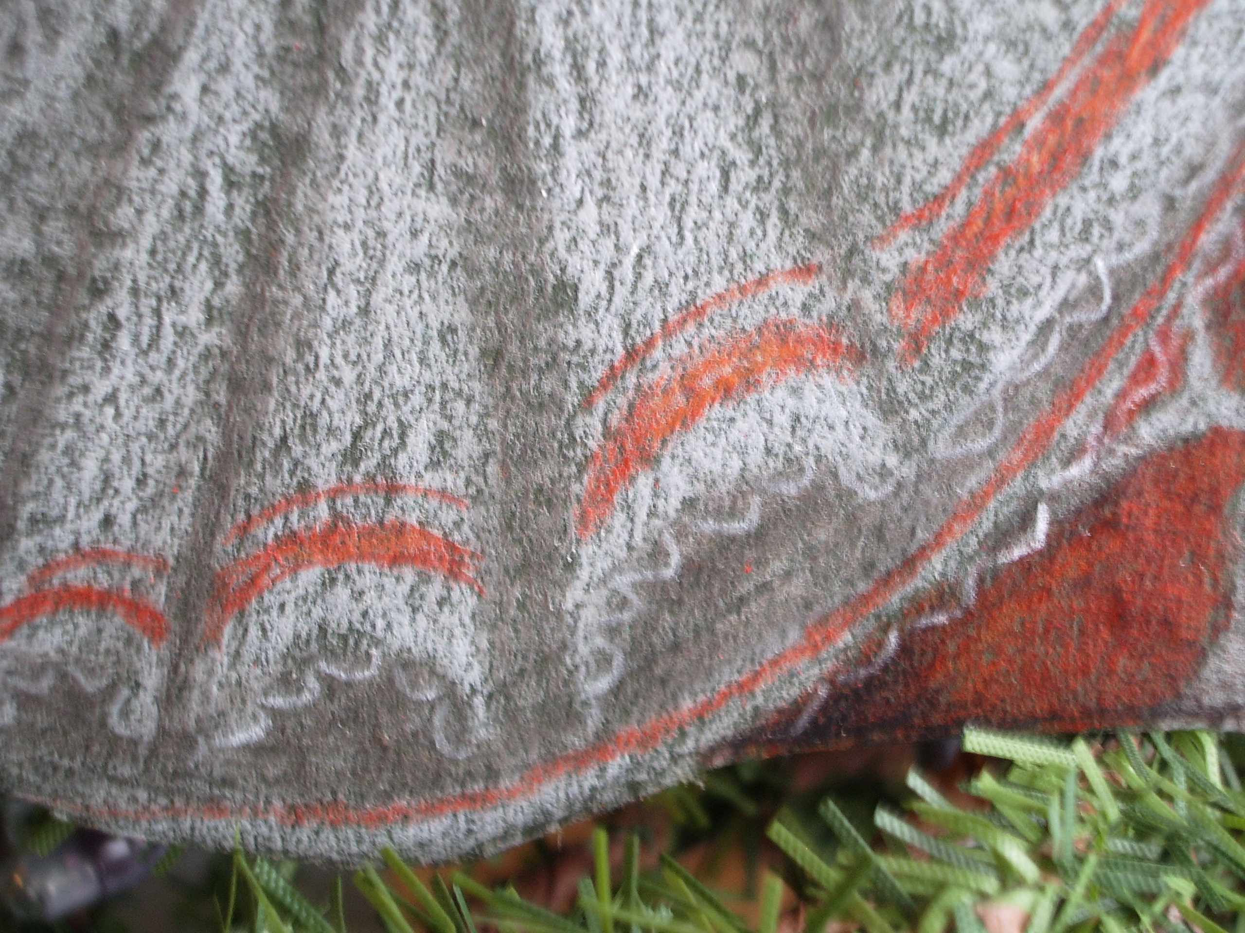 Creating Fabric Folds With Acrylics